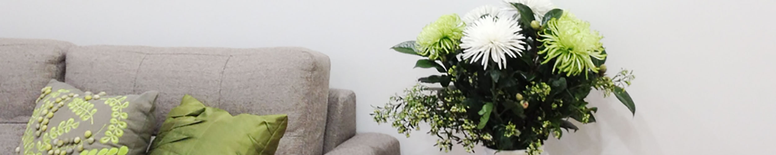 The comfy lounge at Pambula Village Dental Practice