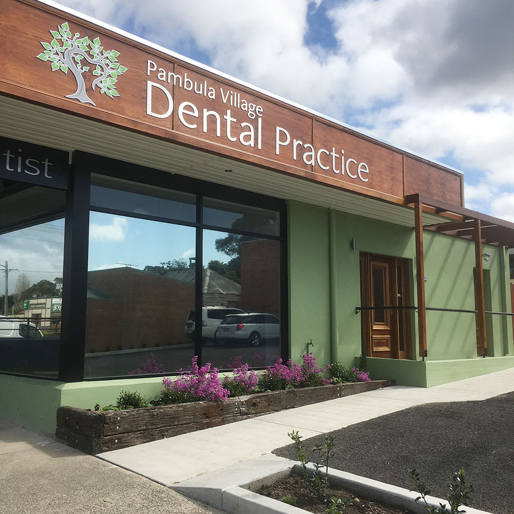 The premises at Pambula Village Dental Practice